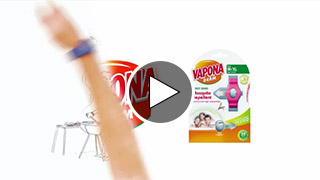 Watch Video - Introduction to Vapona Derm Repellent Wristband